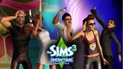 The Sims 3 Showtime Trailer