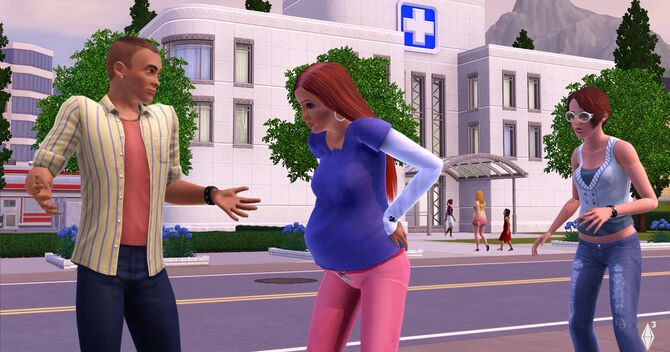 Does Online Hookup Come With The Sims 3 Seasons