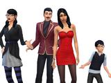 Goth family (AireDaleDogz)
