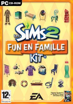 Jaquette Les Sims 2 Fun en Famille
