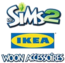 De Sims 2 IKEA Woon Accessoires Logo