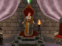 Female Monarch Throne