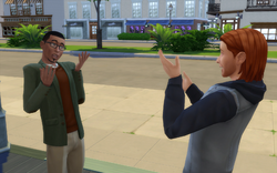 TS4 Cheerful Introduction