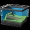 Песчаная лягушка с полосками