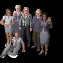 Inktbaard familie