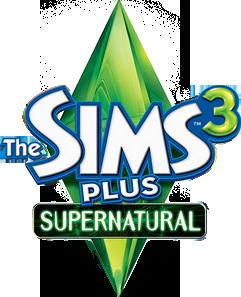 File:The Sims 3 Plus Supernatural Logo.png