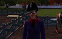 Eliza in riding suit 3