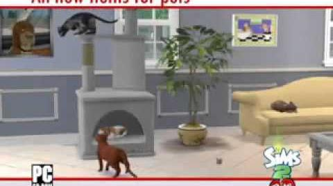 The Sims 2 Питомцы - видеоролик