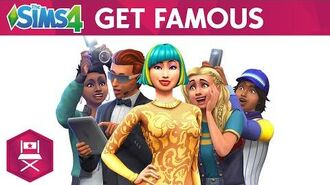 The Sims 4 Get Famous Official Reveal Trailer
