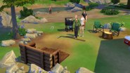 The Sims 4 Horseshoes Playing