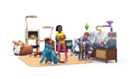 The Sims 4 My First Pet Stuff Render 01