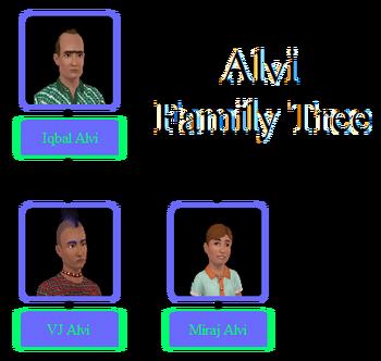 Alvi Family Tree