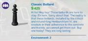 Classic Bollard