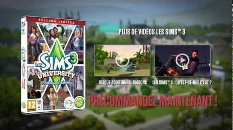 Les Sims 3 University - Trailer officiel-0