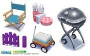 Les Sims 4 Bambins Concept art 3