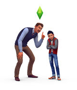 The Sims 4 Parenthood Render 04