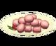 Миндальное печенье с ягодами