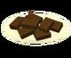 Шоколадное печенье из смеси