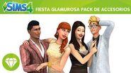 Los Sims 4 Fiesta Glamurosa tráiler oficial