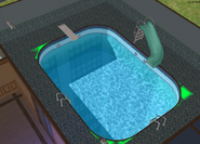 Teleprompter Apartments swimming pool