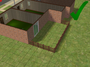 Ts2 custom apartment gg - correct open backyard