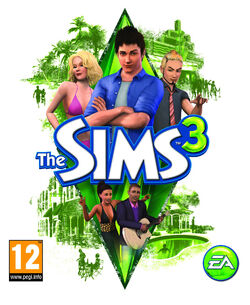 Jaquette Les Sims 3 (PS3 Wii Xbox 360)