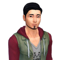 Meseyoshi Iwasaki (The Sims 4)