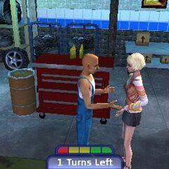 Charla entre una Sim y el mecánico