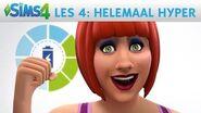 De Sims 4 Academy Les 4 Emoties, Helemaal Hyper