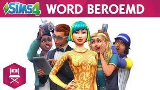 De Sims 4 Word Beroemd officiële onthullingstrailer