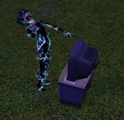 Sim will shock the sims 3