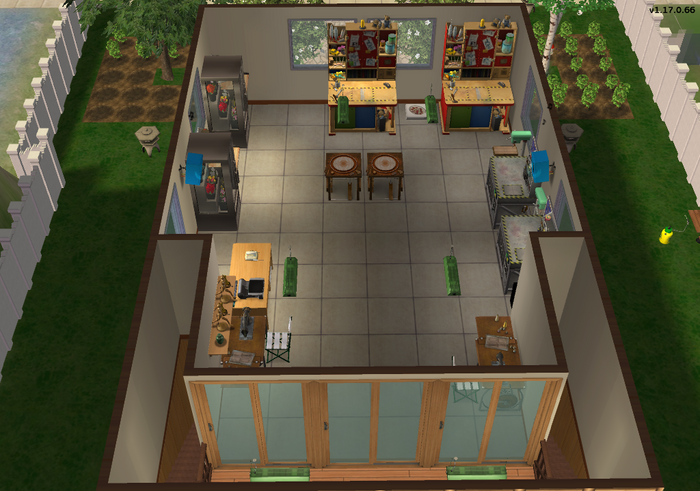 Amar's Flowers & Craftables second floor topdown 2
