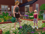 Jardinería (Los Sims 3)