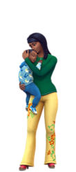 Les Sims 4 Être parents render 04