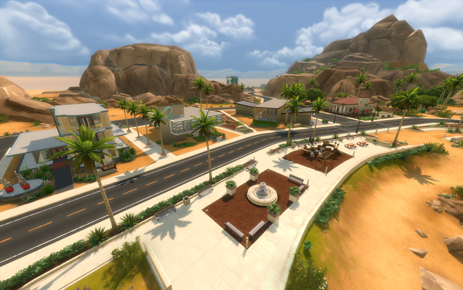 Oasis Springs Commercieel District cover