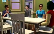 AST 3 dining room scene