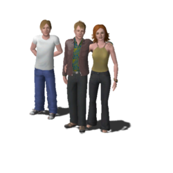 Newbie Family (The Sims 3)