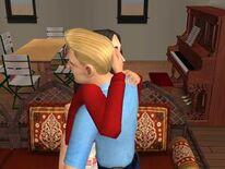 Рассвета и Бак обнимаются