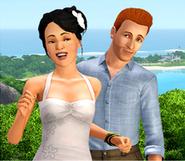 Famille Simpa (Les Sims 3 Sunlit Tides)