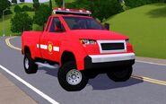 Fire pickup truck