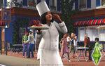 Les Sims 3 Fond d'écran Chef 1680x1050