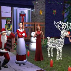 La Familia Gentil aparece en la instalación del pack Los Sims 2: Navidad.