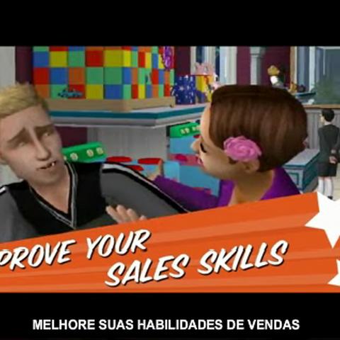 León en el trailer de Los Sims 2: Abren Negocios