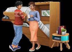 Les Sims 4 Mini-maisons render