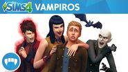 Los Sims 4 Vampiros tráiler oficial