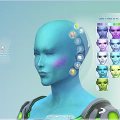 Alienígena en Crear un Sim