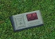 Надгробие — превращение