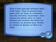 Foyer animaux (Les Sims 3)
