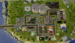 11 Marc Crescent - road map