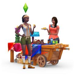 Les Sims 4 Dans la jungle Render 06